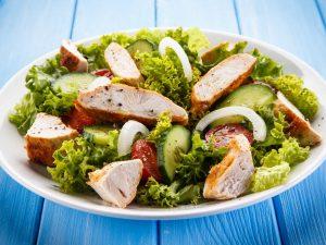 ensalada cesar con pollo receta