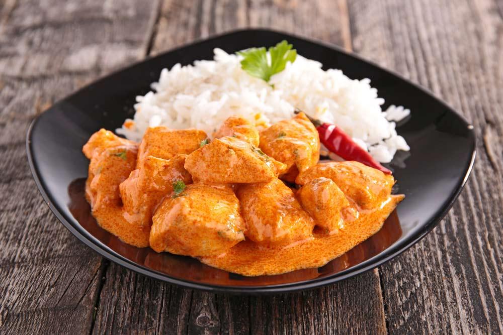receta de como hacer pollo al curry
