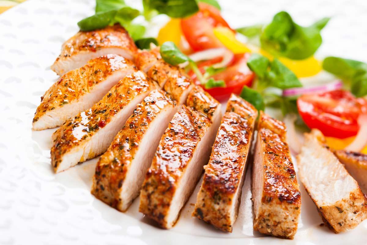 Ensaladas con pollo