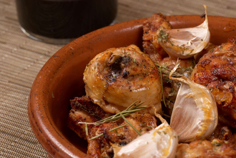 receta pollo al ajillo